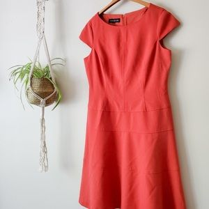 Jones New York coral dress sz2